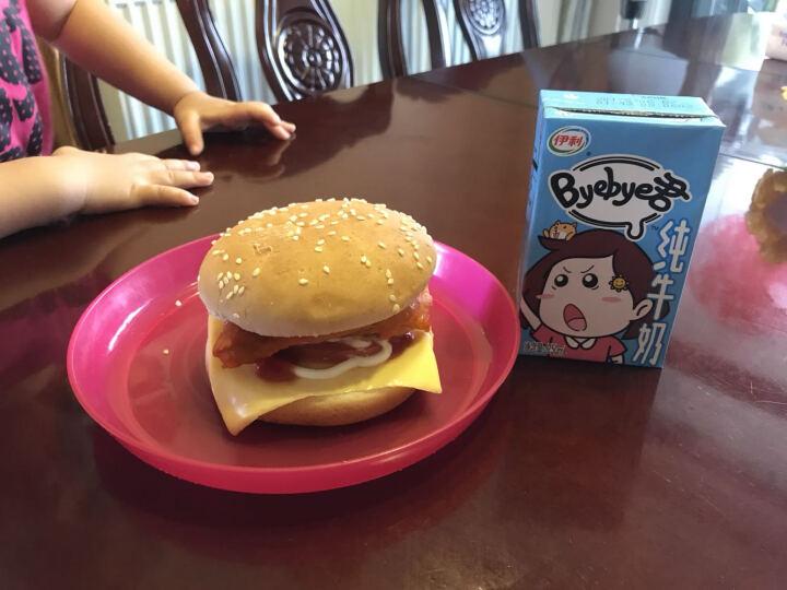 秦宝 牛肉饼 300g(50g*6块) 汉堡饼 调理肉制品 晒单图