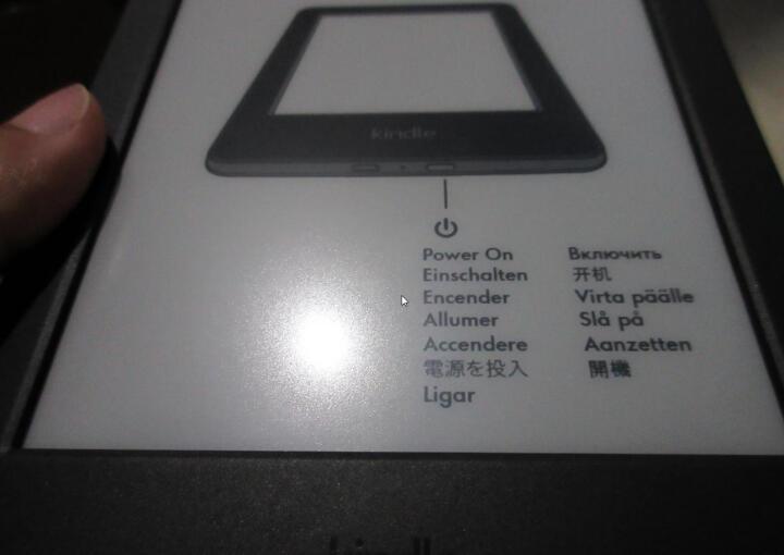 kindle 全新入门款升级版6英寸电子墨水触控显示屏电子书阅读器 wifi 黑色+电纸书30天包退180天包换 晒单图