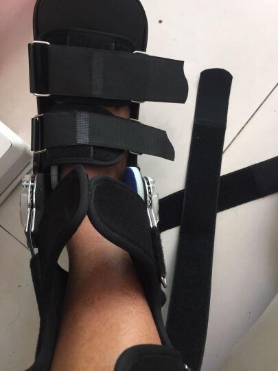 雅酷 医用可调跟腱靴跟腱断裂术后固定康复鞋助行靴脚踝扭伤固定踝关节支具足下垂矫正足托代替石膏 黑色透气款(左右通用) M(41~43码) 晒单图