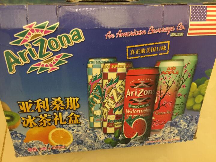 美国进口 亚利桑那饮料 Arizona 西瓜味680ml*4罐 晒单图