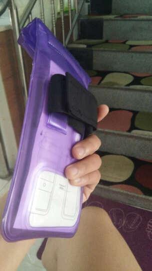 信天游 手机防水袋潜水套5寸6寸内小米oppo苹果手机套手机密封袋 B款加大粉色(TPU指纹解锁)6寸内 晒单图