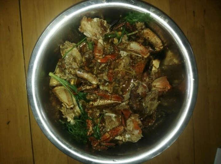 买鲜 爱尔兰熟冻面包蟹2只装  600-800g/只 鲜活熟冻 黄道蟹大螃蟹 海鲜水产 晒单图