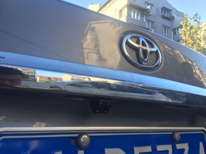 威玛尔 丰田高清CCD夜视倒车摄像头LED倒车影像适用汉兰达凯美瑞花冠卡罗拉RAV4雷凌 08-17年锐志 晒单图