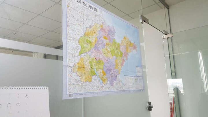 新版 山西省地图(折叠图 套封 1:70万) 晒单图