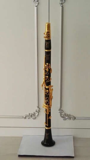 ROFFEE 德国[]单簧管乐器18k金限量款18键专业演奏级镀银乌木黑管降B调106G 2.5号哨片10片装 晒单图