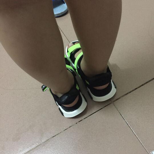 巴布豆童鞋男童凉鞋2017夏季新款儿童凉鞋男中大童沙滩鞋女 2086红色 32码/内长20.5cm 晒单图