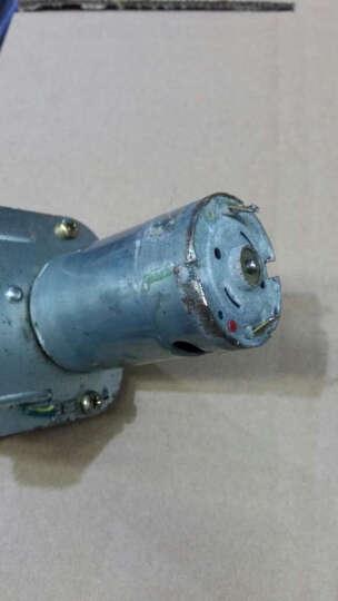 建森大功率大扭矩小型diy发电机马达手摇发电机12V24v减速马达直流发 发电机+稳压器+大灯泡 晒单图
