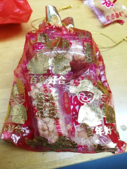 菲寻 婚庆喜糖袋子结婚用品糖果袋装糖果纱袋喜糖盒喜糖包装袋创意 金边_玫瑰花边纱袋【50个装】 大号_17*22cm 晒单图