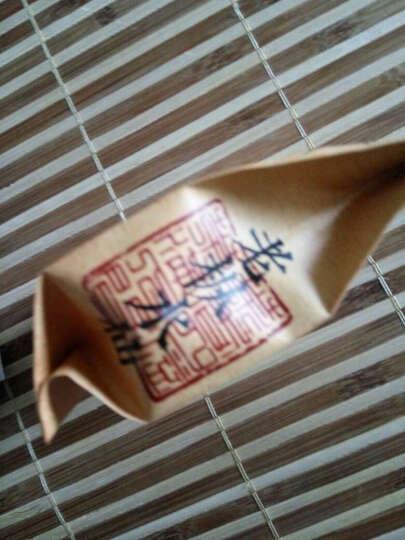武夷山岩茶老枞水仙 奇兰 肉桂 白鸡冠 岩骨花香 大红袍茶叶  正品福建乌龙茶 一级白鸡冠7克装 晒单图