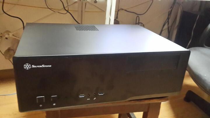 银欣(SilverStone) GD05B HTPC机箱 支持M-ATX/正压差/铝面板12cm风扇 晒单图