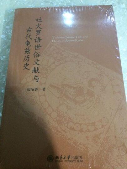 吐火罗语世俗文献与古代龟兹历史 晒单图