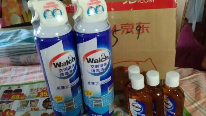 威露士(Walch) 家用消毒液 60ml 家居衣物除菌液 晒单图