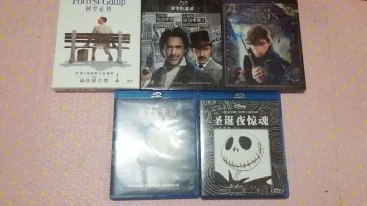 大侦探福尔摩斯1和2(蓝光碟 2BD 双电影版套装) 晒单图