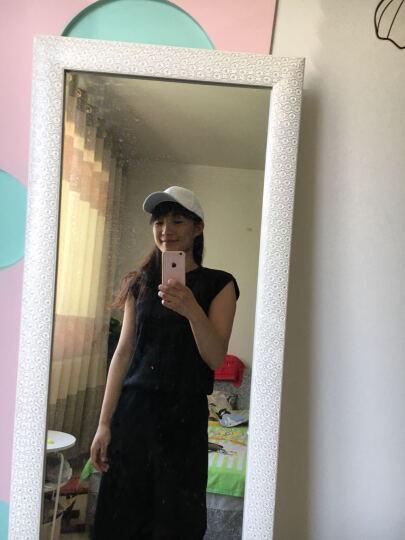 初荷 棒球帽子男女士鸭舌帽韩版潮夏季休闲遮阳帽户外运动嘻哈帽 经典纯棉logo款-粉色 晒单图