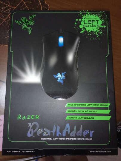 雷蛇(Razer)蝰蛇 DeathAdder 游戏鼠标 左手标准版 黑色 电竞鼠标 绝地求生鼠标 吃鸡鼠标 晒单图