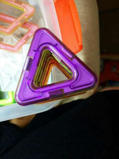 磁力片积木玩具儿童益智玩具百变提拉磁性立体积木拼插套装宝宝玩具女孩男孩儿童节礼物 249件套装+收纳箱+教材 晒单图