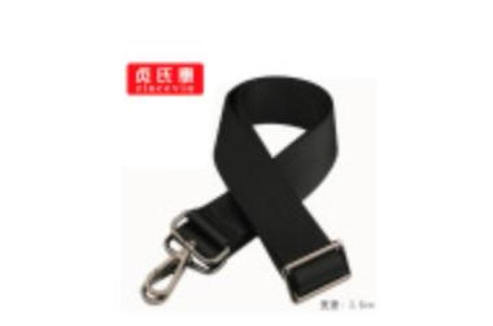 包包带子男包肩带背带配件单肩包斜挎包背包带子电脑包带 黑色宽3.8cm+枪色钩扣 晒单图
