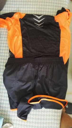 乔丹篮球套装运动套装男夏秋季短袖T恤跑步健身服透气运动服装YXZ 白色 XNT2554 XXL 晒单图