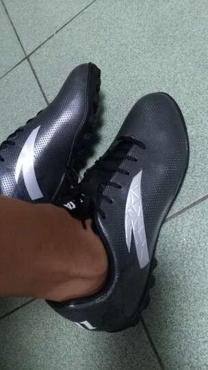 安踏足球鞋 专业胶质碎丁室内外草地运动鞋 郑智推荐 安踏安踏 (TF胶质碎钉)城堡灰-菱足科技 8(欧码41) 晒单图