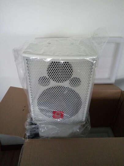 粤浪(YUELANG) HE6会议室音响套装组合家庭影院点歌机ktv卡拉ok舞台舞蹈功放机壁挂式音箱 (80-200平)G80S+T8*4+U4话筒 晒单图