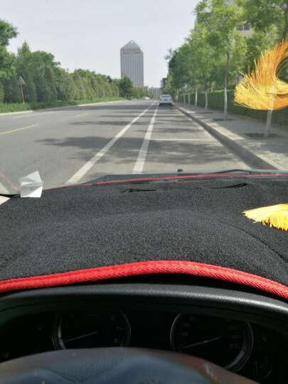 达珀德 避光垫 仪表台遮光垫 汽车中控台专用防晒垫隔热垫遮阳垫 东风风行景逸X5 X3 XV S500 防滑款-红边 晒单图