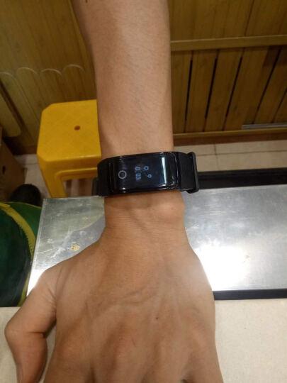 Dotlink A09 智能手环 男女心率血压监测老人 防水记步手表运动 微信来电提醒 安卓苹果通用 A09贵族黑 晒单图