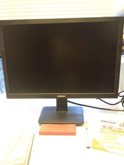 清华同方(THTF)小极(精锐S760-BI01)商用办公电脑整机(i3-7100T 4GDDR4 128GSSD+1T 内置WiFi)19.5英寸 晒单图