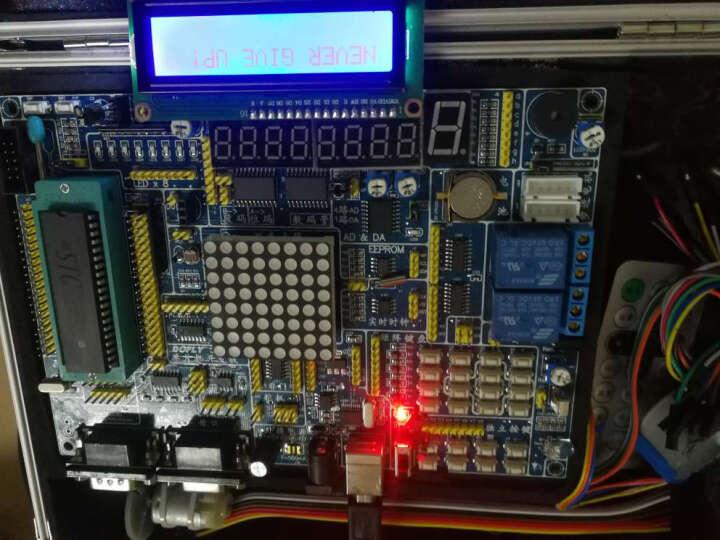 德飞莱 LY51S-PLUS 51 单片机开发板 实验箱 晒单图
