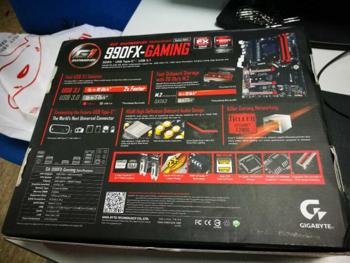 技嘉(GIGABYTE)990FX-Gaming主板 (AMD 990FX/ Socket AM3+) 晒单图