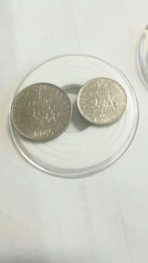邮币世界 外国硬币钱币纪念币 法国播谷女神法郎硬币 单枚 配小圆盒 1/2法郎硬币19.5mm 晒单图