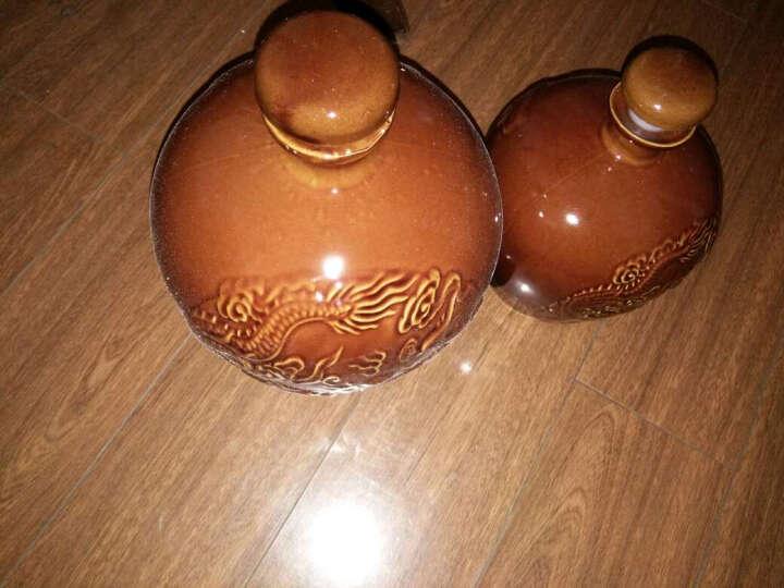 龙凤土陶空酒瓶四川陶瓷泡白酒壶坛子罐2两1斤2斤3斤5斤10斤装 装水容量5斤 晒单图