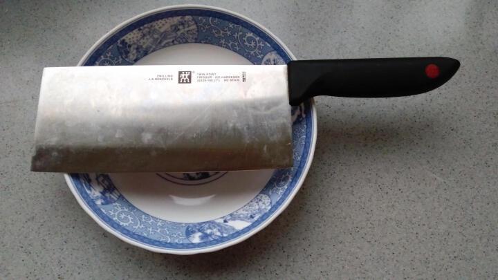 双立人(ZWILLING) 德国刀具菜刀中片刀多用刀套装 厨房家用不锈钢切菜刀 菜刀水果削皮器剪刀三件套 晒单图