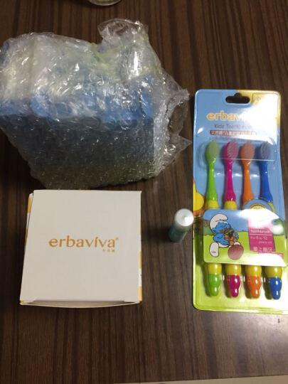 艾芭薇(Erbaviva) 儿童牙刷牙膏套装6-12岁宝宝换牙期软毛牙刷无氟牙膏组合 晒单图