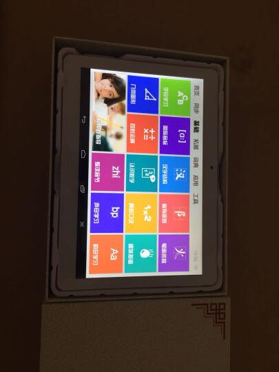状元榜 学习机V10四核10.1英寸 九门同步学生平板电脑点读机电子辞典 玫瑰金(1G+16G)皮套+贴膜+耳机+练字帖/笔 晒单图