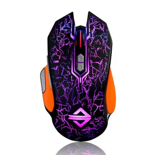 黑爵(AJAZZ) GT 机械有线游戏鼠标 lol/cf 吃鸡宏定义鼠标电竞电脑笔记本鼠标绝地求生 RGB小苍定制版白色 晒单图