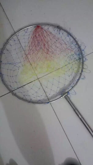 三分钟(IN THREE MINUTES) 三分钟不锈钢抄鱼网兜伸缩抄网杆折叠抄网头40定位渔网渔具 普通3米 晒单图