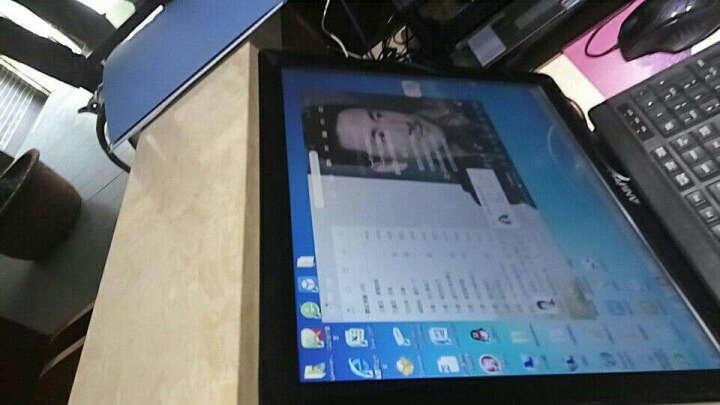 安美特(Anmite)17英寸触摸屏液晶电脑显示器 高清电阻触控LED背光显示屏 收银 黑色 晒单图