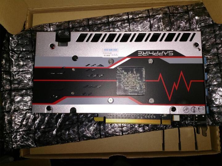 蓝宝石(Sapphire) RX580系列电脑游戏吃鸡独立显卡 RX580 4G 白金版 晒单图