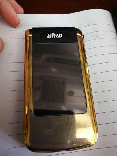 波导(BiRD) A530 翻盖老人手机 移动联通版 双卡双待 功能机 灰色 官方标配+原装电池 晒单图