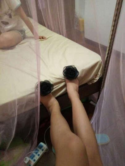 欧语伊依 夏季果冻套脚透明女凉鞋茶花蕾丝大花朵鱼嘴平底仿水晶鞋 XSF 香槟花 37 晒单图