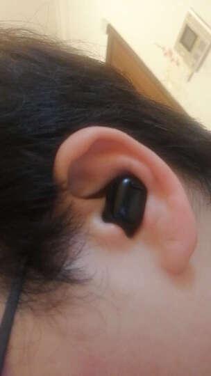 MATE 蓝牙耳机无线跑步运动双耳隐形迷你耳塞入耳式重低音商务魔音魔声苹果华为小米安卓通用 黑白情侣-i7经典款 晒单图