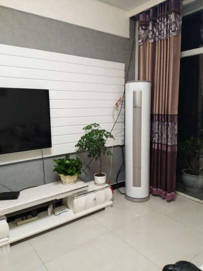 美的(Midea) 3匹 智行 冷暖定频 空调柜机  三级能效 立柜式 KFR-72LW/DY-YA400(D3) 3匹 晒单图