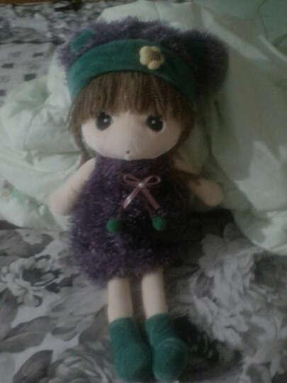 蓝诗诺  正版百变菲儿女孩布娃娃毛绒玩具洋娃娃公仔玩偶创意小女孩生日礼物六一儿童节 大红毛衣 90cm 晒单图