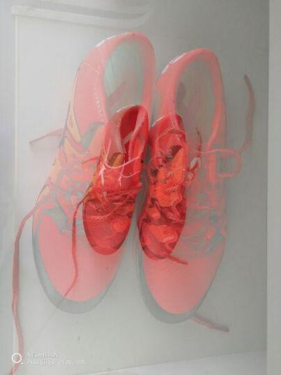 Adidas阿迪达斯足球鞋男碎钉TF运动正品防滑人造草地鞋 16.4 BB5684亮蓝/亮白/玫粉 40 2/3 晒单图