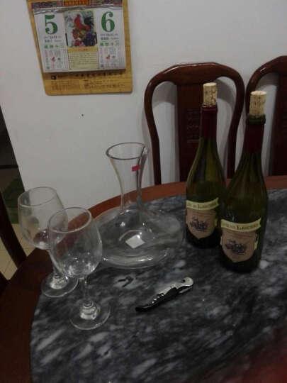 法国红酒 原瓶进口葡萄酒整箱 骑士舞者 干红桃红750ml*4 晒单图