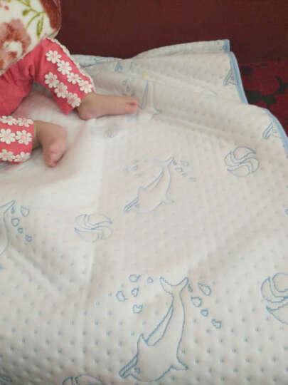 LOVEBBF.WLP&GYF 婴儿隔尿垫 吸水透气宝宝防水垫 新生幼儿隔尿垫子 可水洗棉隔尿床垫 粉色小格小猫 中号70*100 晒单图