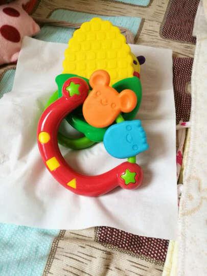 澳贝(AUBY)婴儿摇铃牙胶宝宝新生儿玩具0-6-12个月0-1岁放心煮摇铃5pcs礼盒 新年礼物男孩女孩玩具463157DS 晒单图