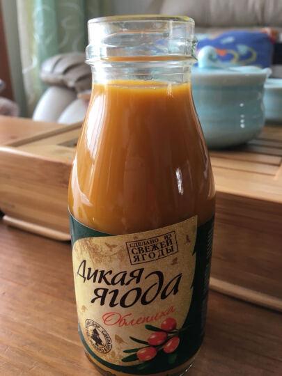 俄罗斯果汁饮料 进口浓缩果汁 沙棘汁 低糖饮料 鲜榨果汁 蓝莓果汁 浓缩纯果汁 蓝莓 晒单图