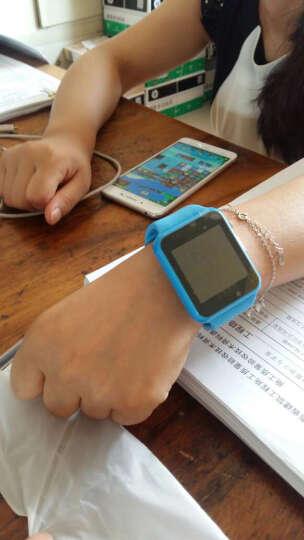 妙弦 【送内存卡】 儿童电话手表智能手表手机插卡通话触屏定位电话手表学生 典雅黑(三代定位版+APP下载+拍照+16G卡) 晒单图