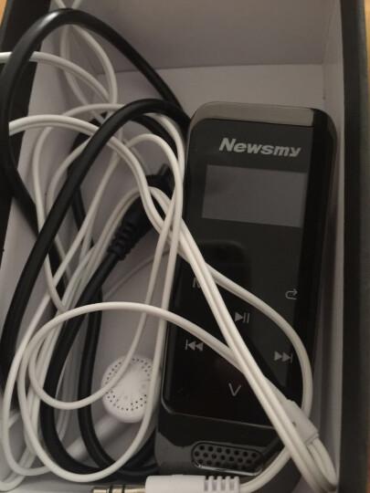无损MP3/MP4播放器插卡迷你音乐随身听MP3/MP4学生有屏录音FM收音机 运动记步 黑色(带蓝牙) 晒单图